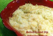 Baked Fennel Dip  gluten free / Kitchen Wisdom Gluten Free Baked Fennel Dip http://kitchenwisdomglutenfree.com/2014/11/23/baked-fennel-dip-gluten-free-forget-what-you-know-about-wheatc-2014/