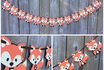 Fox birthday party