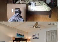 BEFORE & AFTERS / From the walkthrough, to design, to renovation, to staging...    Check out some of our incredible before and afters!