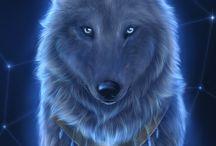 lobos / animales fantasticos los