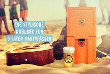 Cooling Cubes – Die stylische Kühlbox / Cooling Cubes – Die stylische Kühlbox für 5 Liter Partyfässer Über 24 Stunden eiskalte Getränke… Cooling Cubes ist eine passive Kühlbox für das 5 Liter Partyfass.