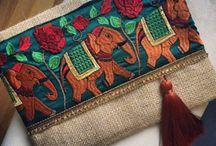 сумка и ткачество