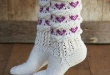 chausette tricot