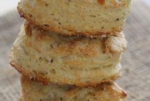Tea biscuit salt and pepper