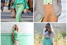 Colour inspiration - mint green