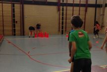 Training korfbal welpen