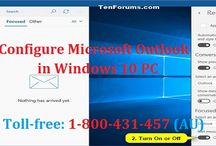Contact 1-800-431-457 to Configure Microsoft Outlook in Windows 10 PC