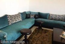 les plus beaux salons et décoration marocaine