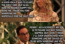 BANG... Sheldon, Amy, Leonard, Penny, Howard, Bernadette, Raj