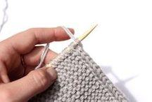 strikket kant