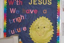 School bulletin boards ideas