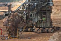 Bergbau-Arbeitsvorgänge