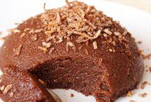 χαλβάς με σοκολάτα ινδοκάρυδο