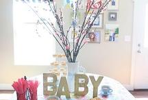 Baby a shower decor