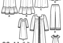 Sewing nightdress