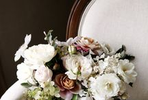cafe wedding / spring - muted pastels & champagne tones - bright & industrial