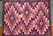 bargello quilts / by Carol Mercer