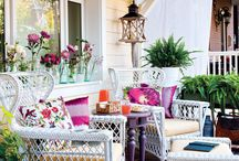 Outdoor Spaces / All about outdoor living spaces including the garden, porches and backyards