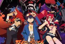 Tengen Toppa Gurren-Lagann / Tengen Toppa Gurren-Lagann é uma série de anime japonesa. Conta a história de uma humanidade futurista, ou em uma dimensão alternativa, onde os poucos humanos existentes vivem no subterrâneo.E muito foda!!!