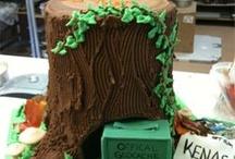 Geocaching cakes