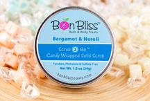 BonBliss Scrub-2-Go / Feel Good.  Smell Good.  Anytime.  Anywhere.