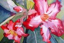 Pintores e suas pinturas 2 / by Celia Regina