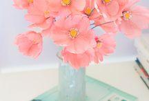 Papir blomster
