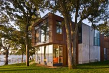 ARCHITECTURE: wood / regardless of scale or project type, wood adds an instant warmth