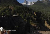 North Cascades / Dramatic mountain peaks and spectacular scenery across National Forest and park land - This is the Cascades at their best - with lakes, rivers, creeks, abundant hiking trails and travelers' rests along the way.