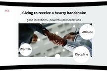 Get a hearty handshake