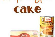 Dump Meals & Cake