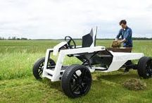 How to mechanize the lawn mowing?