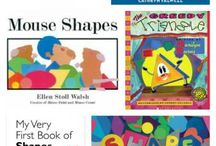 Shapes theme crafts and books / Innovative ways to teach your toddler and preschooler about shapes!