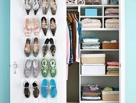 Ideas for my tiny closets