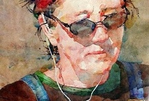 Watercolor Portraits / by Joanna Mann