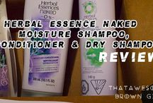 HERBAL ESSENCE NAKED MOISTURE SHAMPOO, CONDITIONER AND DRY SHAMPOO REVIEW / #gotitfree #HerbalEssences