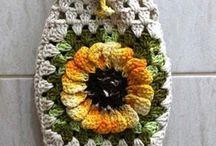 crochet walker bag