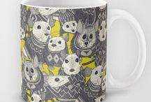 Mugs and Travel Mugs / Support an artist, buy a mug uniquely designed for someone special. Makes beautiful gifts!