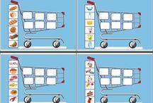 alimentos y carrito