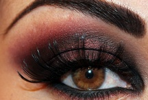 Eye make-up / by Sherrie Bradley