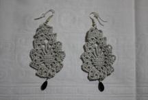 Eardrops / Eardrops [handmade crochet]