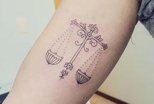 Waage Tattoo