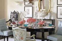 Decor inspiration: dining room and table setting