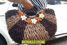 Handmade Handbags Purses Natural / organic bags, purses, handmade bags, natural, beach bags, shopping handbag, casual style, bali handbag, straw, pandanus, rattan, leather, beaded, embroidery