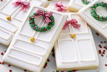 galletas Navidad con Glasa