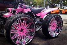 Riding n or on pink  / by Bruce Yearwood
