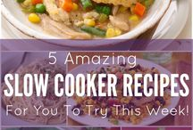 Crockpot Recipes & Slow Cooker Recipes / Delicious & Easy Crockpot Recipes you can make in your Slow Cooker. Everything from Crockpot Dinners to Slow Cooker Soups & Stews, this is your one stop for Desserts, Snacks and More!  / by Heather @PassionForSavings