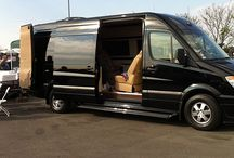 Ultimate Tailgate Party / Brilliant luxury vans at your next tailgate party equals a brilliant experience. Take a Brilliant Van to Super Bowl 48 in New York!