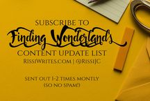 Articles, Opinion Pieces, Blogging | Finding Wonderland / #blog articles, opinion #articles and various #blogging information for Finding Wonderland