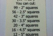 dimensions et coupes